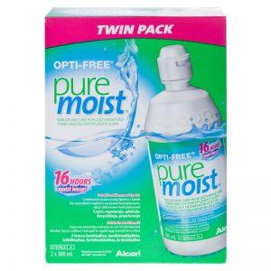 solutii ingrijire lentile de contact Opti Free Pure Moist
