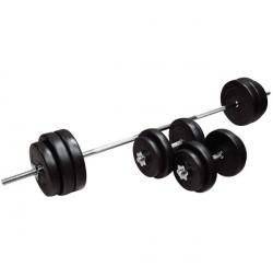 set-gantere-pvc-insportline-50kg